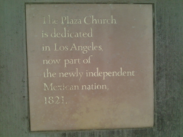 1821: LA is (independent) Mexico.