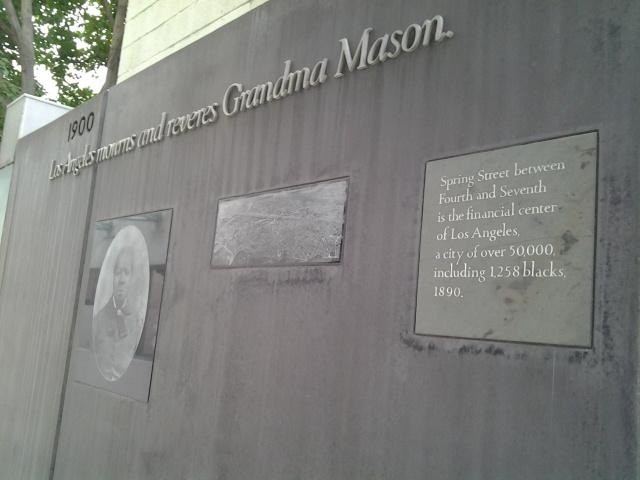 1900: L.A. mourns and reveres Grandma Mason.