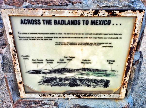 badlands to mexico