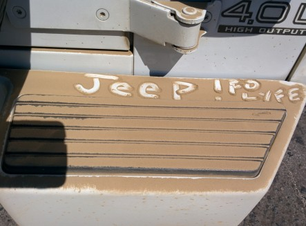 jeep dust fo lyfe